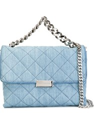 Stella Mccartney 'Beckett' Denim Tote Blue