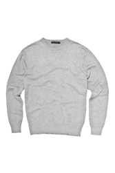 French Connection Men's Auderly Cotton Crew Neck Light Grey