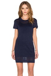 Michael Stars Knit Dress Navy