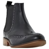 Dune Wide Fit Quent Ankle Boots Black