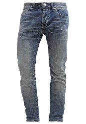 Earnest Sewn Dean Slim Fit Jeans Hideaway Blue Denim