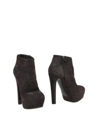 Nando Muzi Ankle Boots Dark Brown