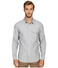 Billy Reid Runway Miller Button Up Shirt Light Blue