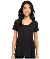 Lole Mukha Top Black Women's Short Sleeve Pullover