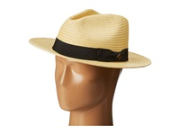 San Diego Hat Company Sdh2027 Panama Fedora W Black Ribbon Band Natural Fedora Hats Beige