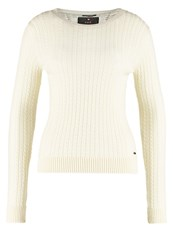 Superdry Luxe Jumper Cream Off White
