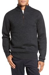 Rodd And Gunn Men's 'Stirling Falls' Wool Quarter Zip Sweater
