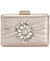 Inc International Concepts Majaa Clutch Only At Macy's Champagne