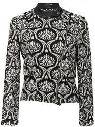 Yigal Azrouel Multi Jewel Print Jacket Black