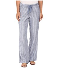 Tommy Bahama Fresca Striped Pants Dockside Blue Women's Casual Pants
