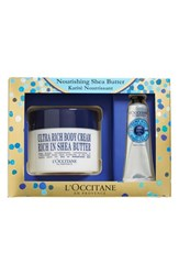 L'occitane 'Nourishing Shea Butter' Deluxe Duo Limited Edition 56 Value