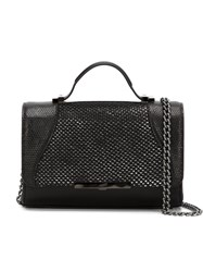 Khirma Eliazov 'Diamond Mini' Satchel Black
