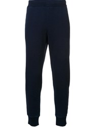 Ag Jeans Elastic Hem Tapered Trousers Blue