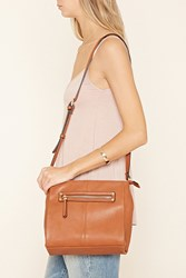 Forever 21 Faux Leather Structured Satchel