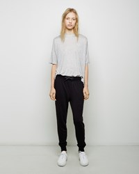 Alexander Wang French Terry Sweatpants Black