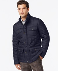 Tommy Hilfiger Four Pocket Quilted Jacket Midnight