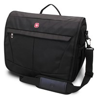 Wenger Basic Messenger Bag Black