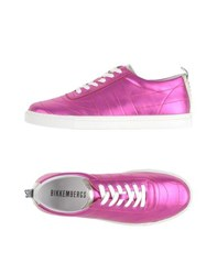 Bikkembergs Footwear Low Tops And Trainers Women Fuchsia