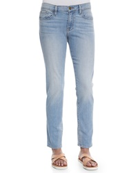 Frame Le Garcon Faded Denim Jeans Mitchell