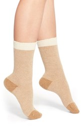 Women's Pantherella 'Sylvie' Stripe Cashmere Blend Socks Ivory Milk