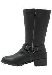 Evans Lockie Boots Black