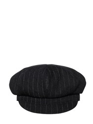 Y's Striped Boiled Wool Hat