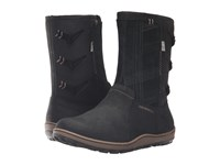 Merrell Ashland Vee Mid Waterproof Black Women's Boots