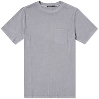 Alexander Wang T By Washed Pocket Tee Grey
