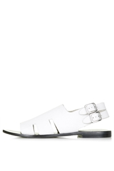 Topshop Fruity Cut Out Sandals White