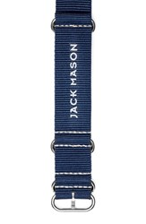Men's Jack Mason Brand Nylon Nato Strap 22Mm Navy