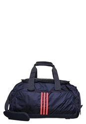 Adidas Performance Sports Bag Midnight Grey Flash Red