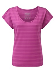 Tog 24 Propel Womens Tcz Stretch T Shirt Berry