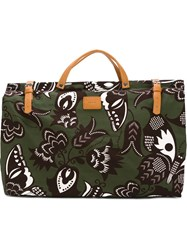Paul And Joe Butterfly Print Tote Bag