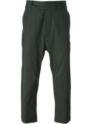 Chapter 'Carl' Tapered Trousers Green