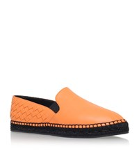 Bottega Veneta Interweave Back Espadrille Female Orange