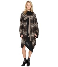 Vivienne Westwood Blanket Cape Brown Women's Clothing
