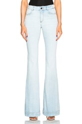 Stella Mccartney 70S Flare Jeans In Blue