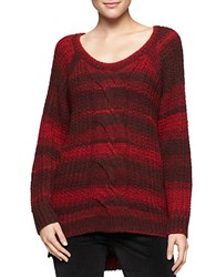 Calvin Klein Jeans Ombre Cableknit Sweater