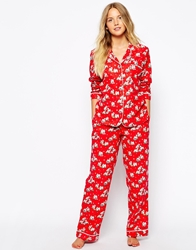 Cath Kidston Christmas Billie Nightwear Long Pj Set Christmasbillie