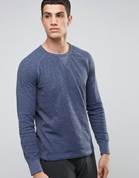 Celio Long Sleeve Top With Raglan Sleeve Indigo Navy