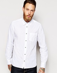 Ymc Button Down Shirt Long Sleeve White