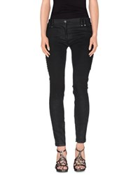 Plein Sud Jeanius Denim Denim Trousers Women Black