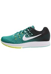Nike Performance Air Zoom Structure 19 Stabilty Running Shoes Rio Teal White Black Hyper Turquoise Volt Light Blue