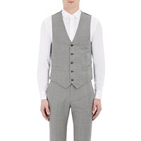 Brooklyn Tailors Glen Plaid And Houndstooth Vest Multi