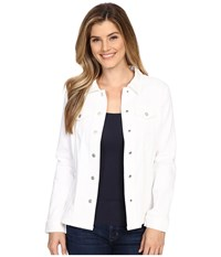 Nydj Dylan Jacket Optic White Women's Coat