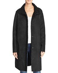 Velvet By Graham And Spencer Faux Sherpa Jacket Black