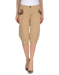 Parasuco Cult 3 4 Length Shorts Camel