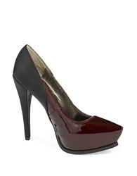 Sam Edelman Jaelyn Platform Stilettos Red