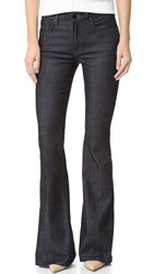 Victoria Beckham Flare Trouser Jeans Raw Stretch