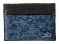 Tumi Monaco Slim Card Case Cobalt Credit Card Wallet Blue